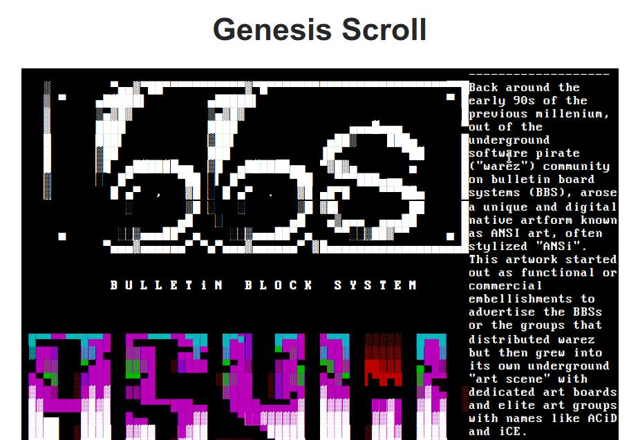 Bulletin Block System showcase