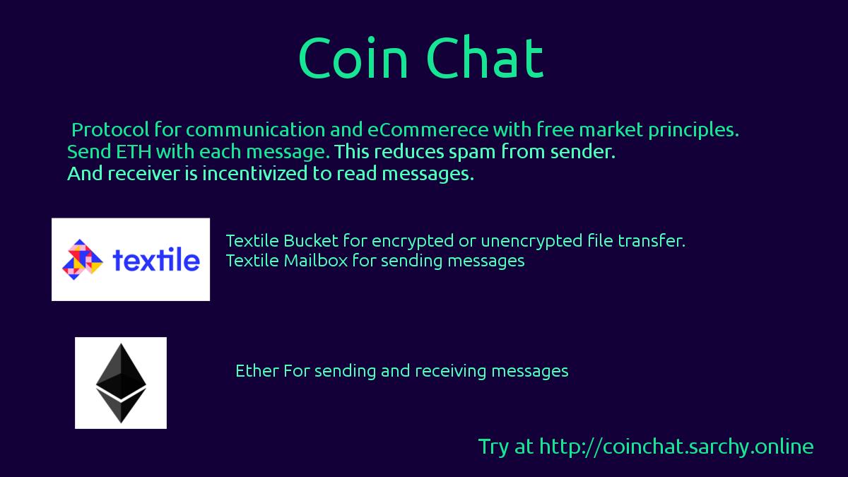 Coin Chat showcase