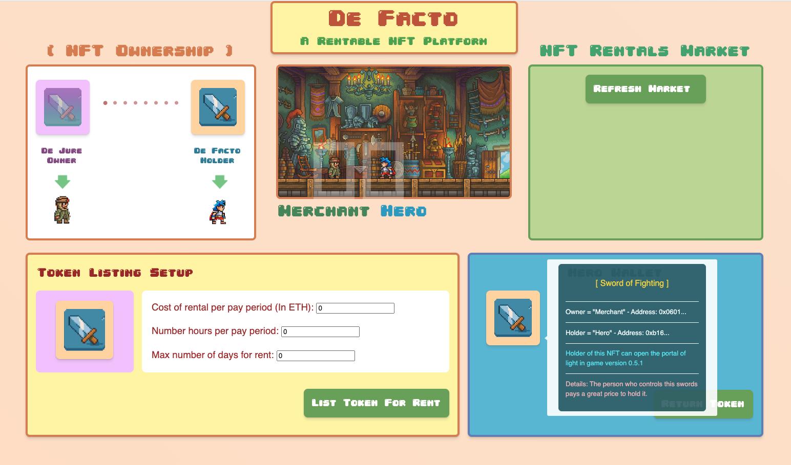 DeFacto showcase