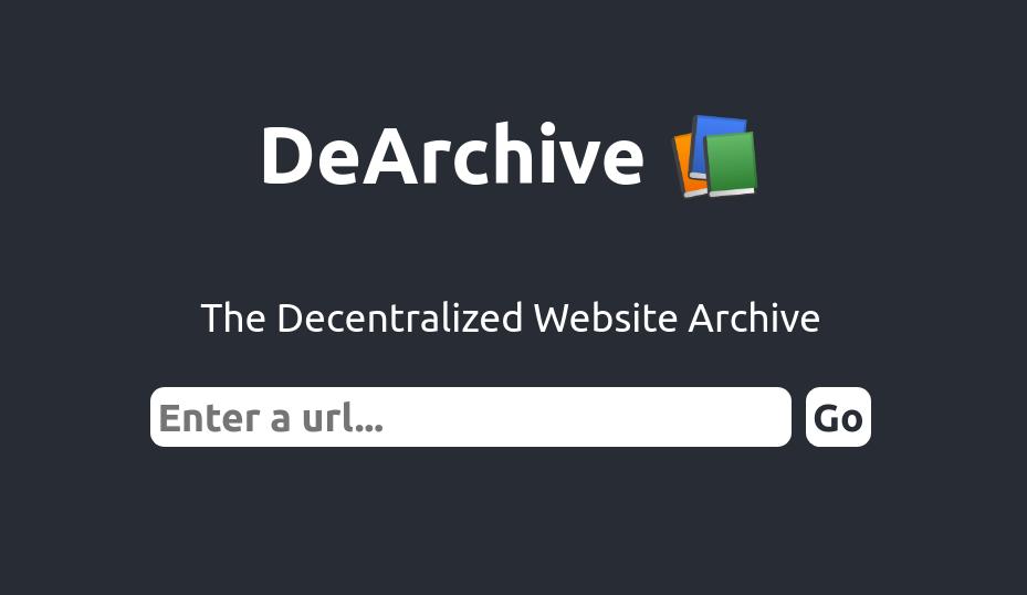 DeArchive showcase