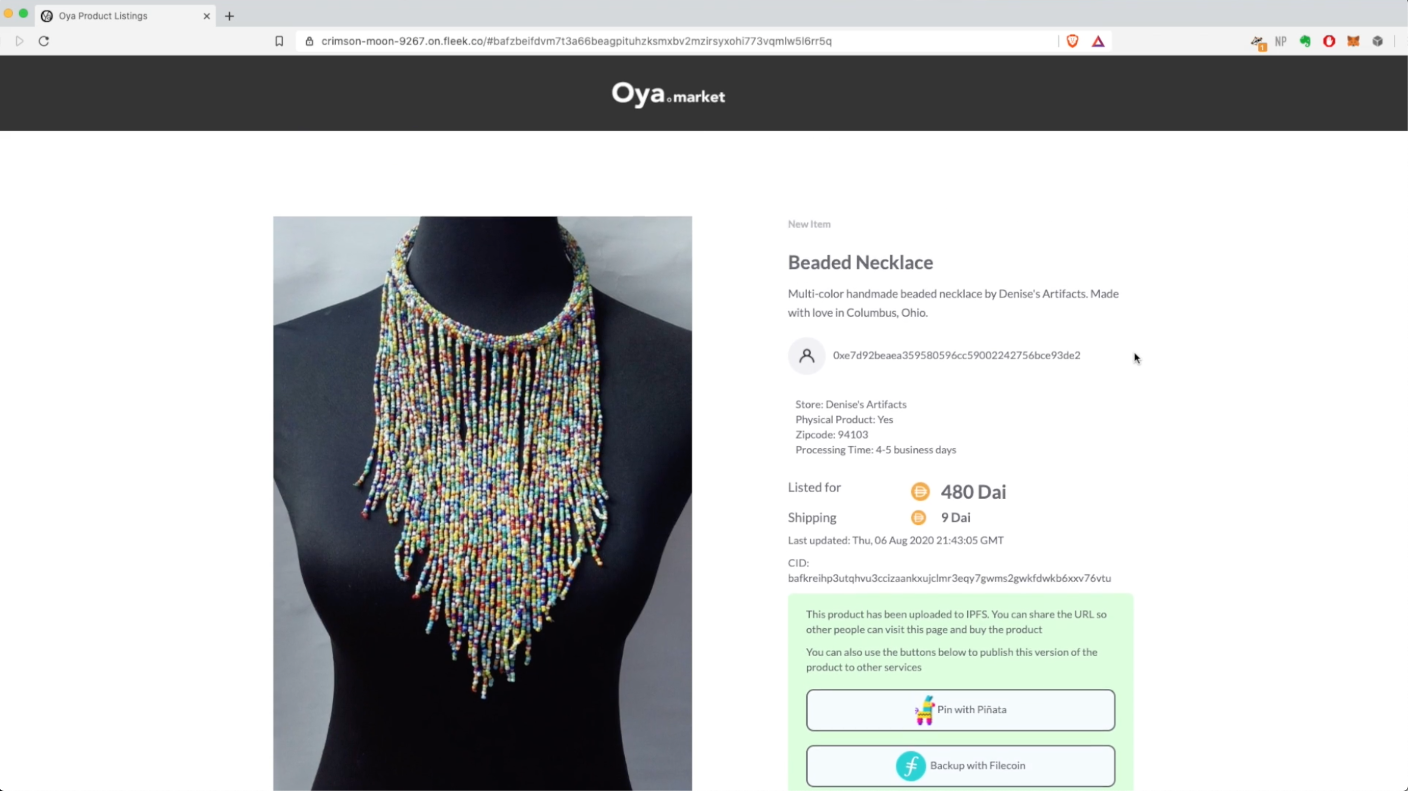https://ethglobal.s3.amazonaws.com/recDvXC3SjNuibhTi/Oya_Product_Listing_Screenshot.png