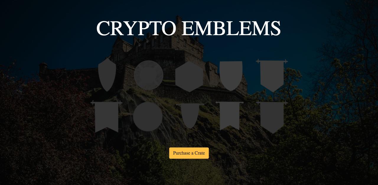 BOOSTER / CryptoEmblems showcase