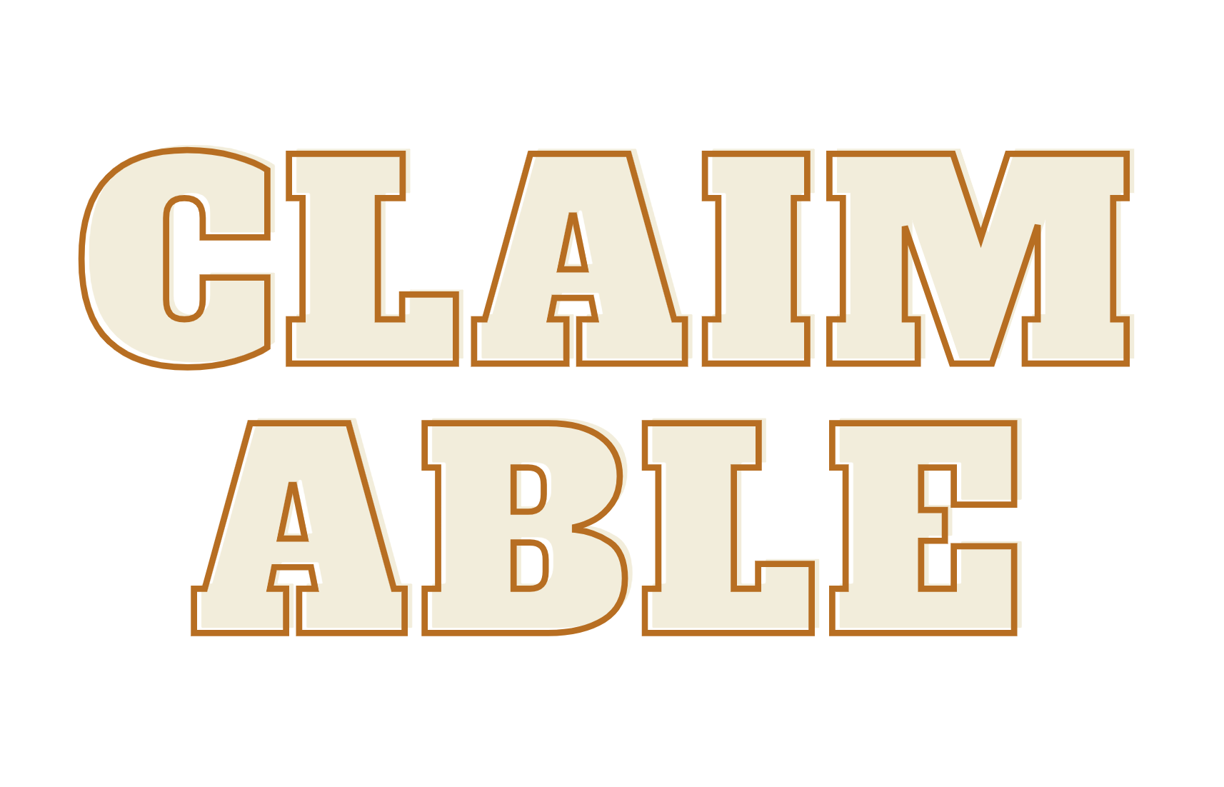 Claimable showcase