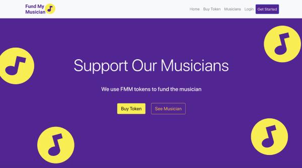 Fund My Musician showcase
