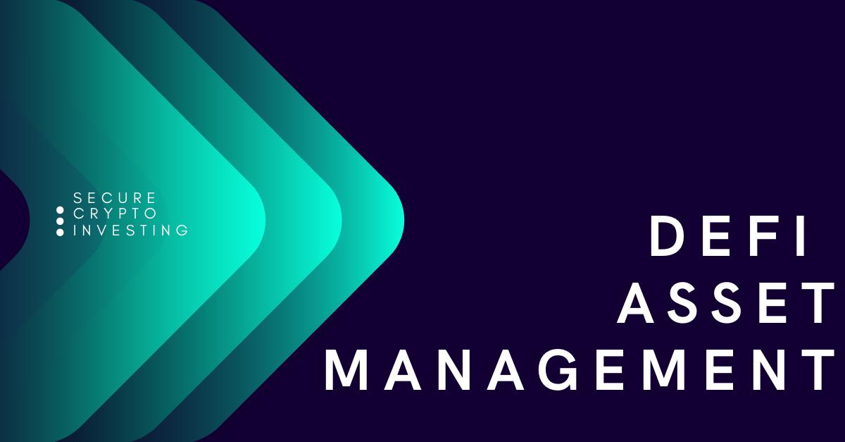 Defi Asset Manager showcase