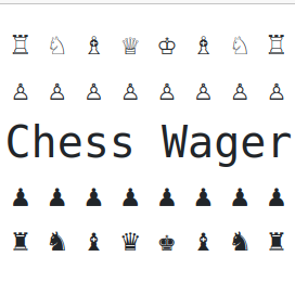 Chess Wager