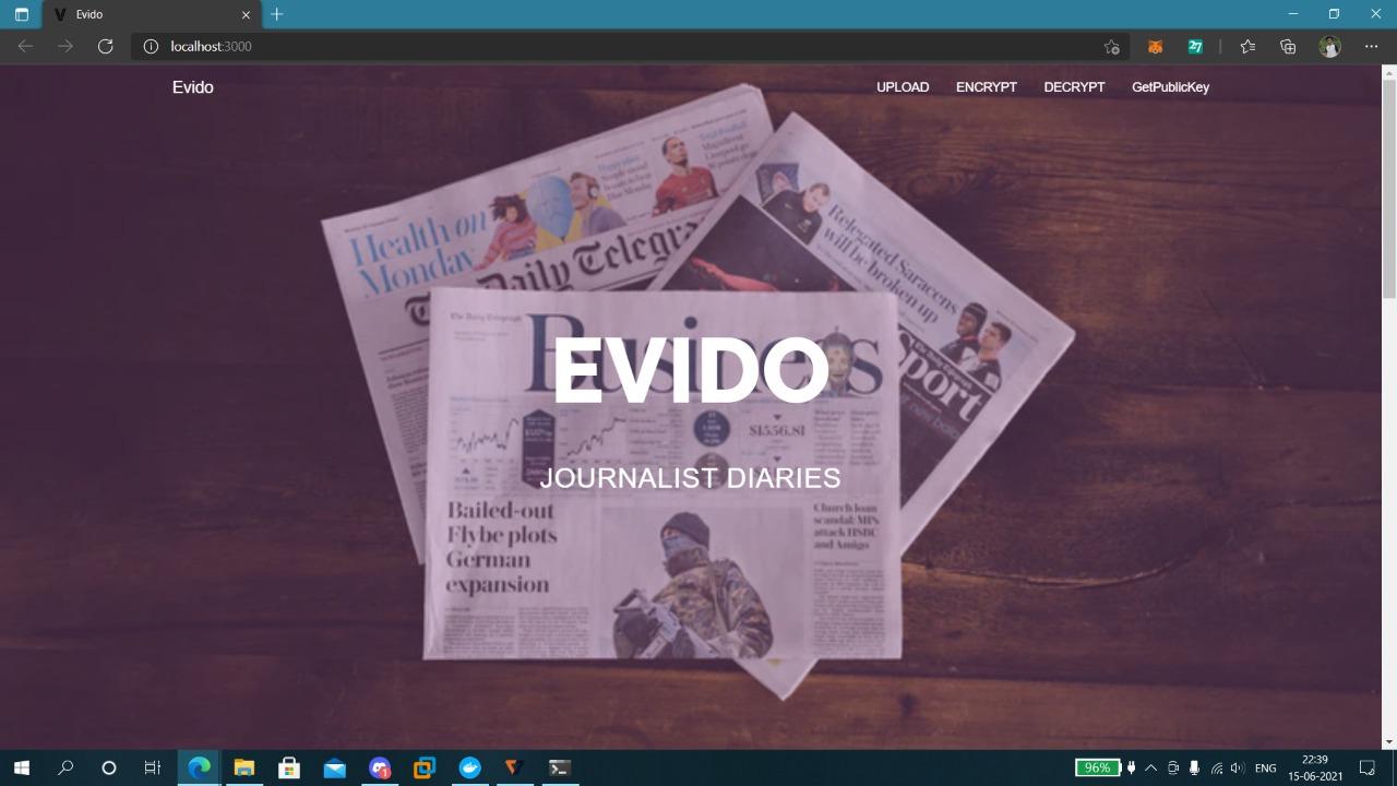 EVIDO showcase