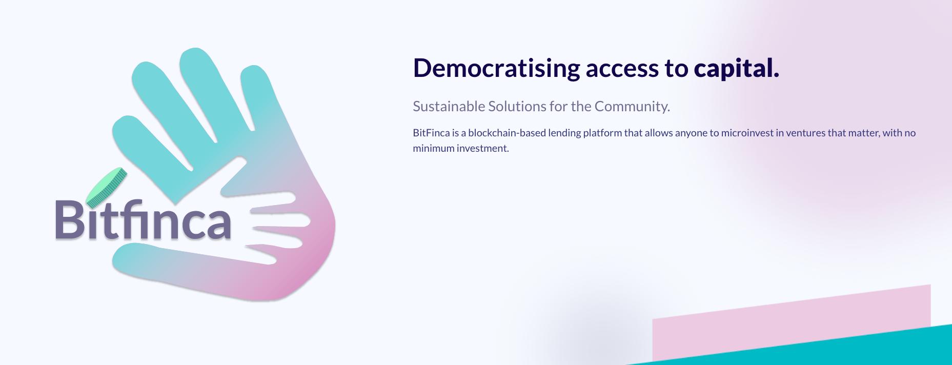 BitFinca showcase