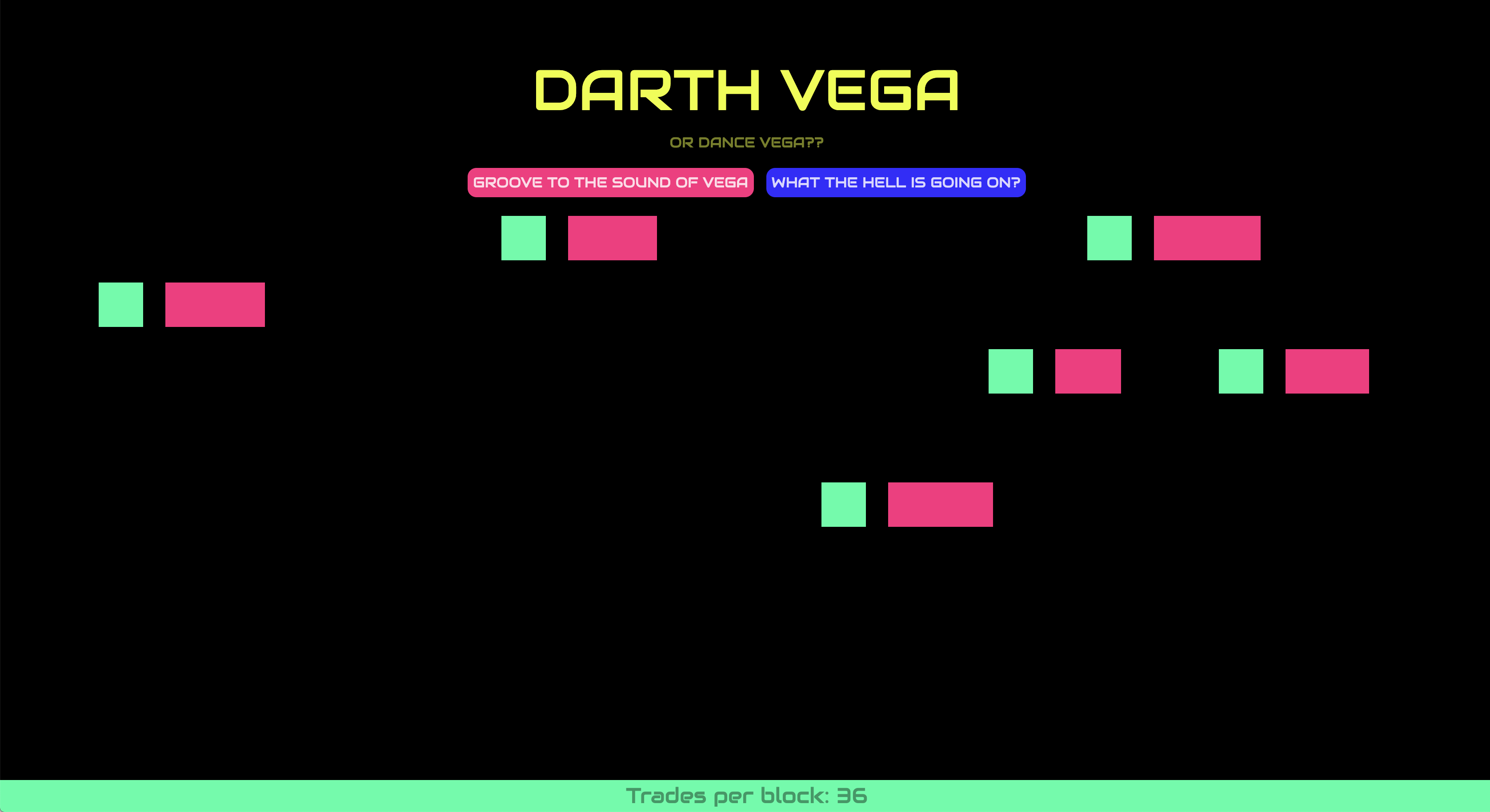 Darth Vega showcase