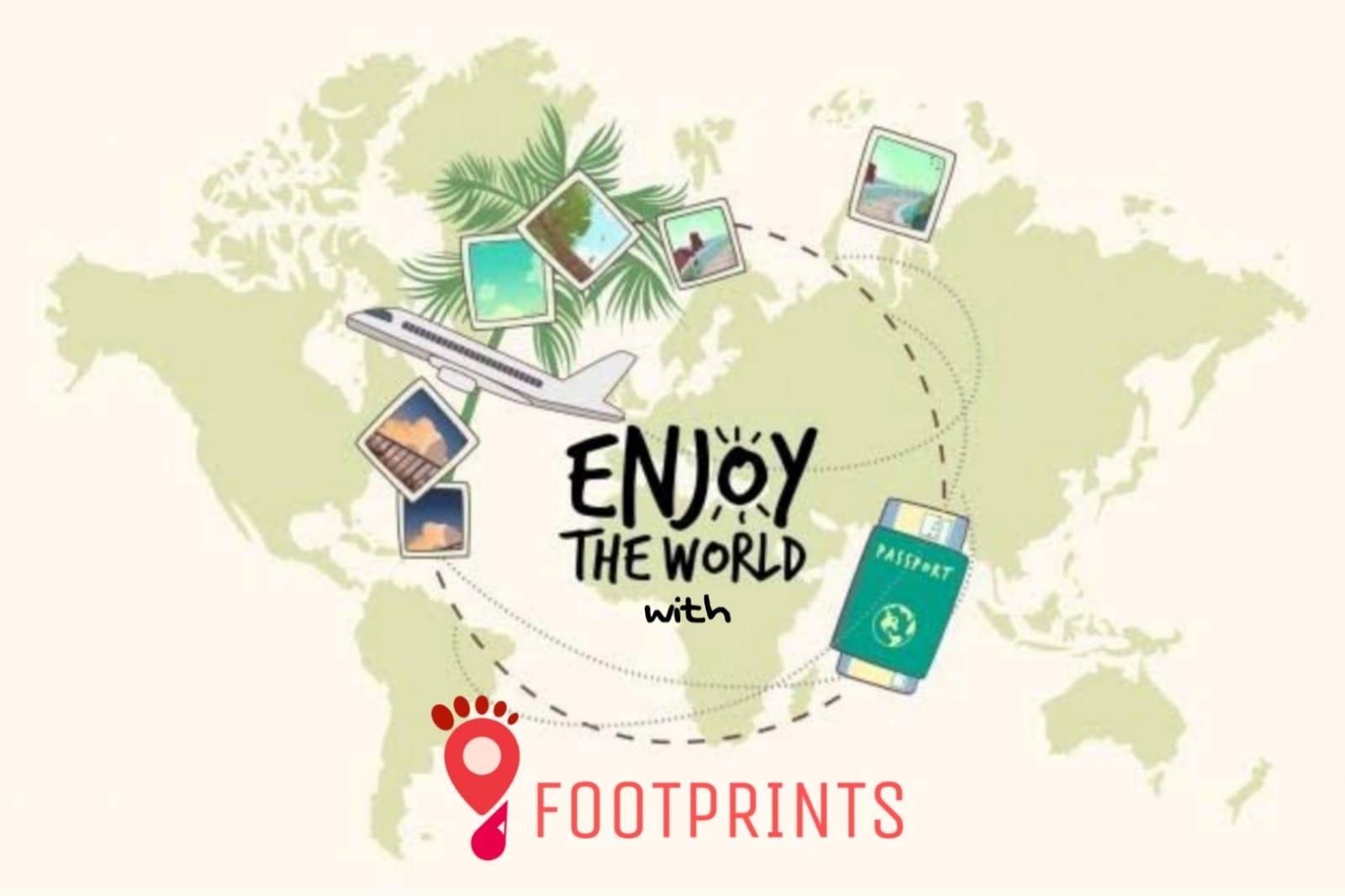 Footprints showcase