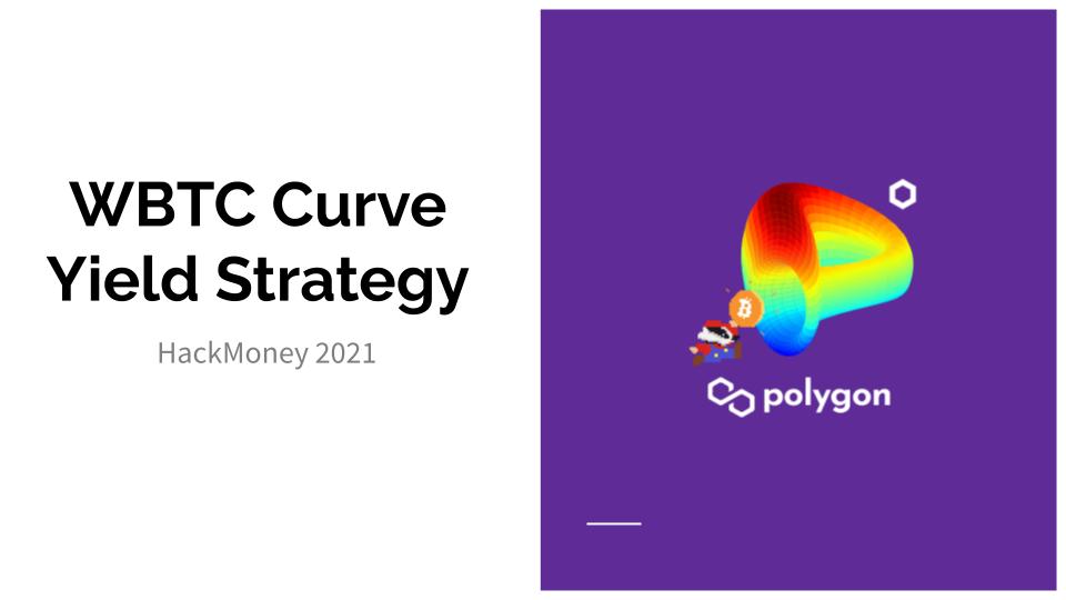 WBTC Curve Yield Strategy showcase