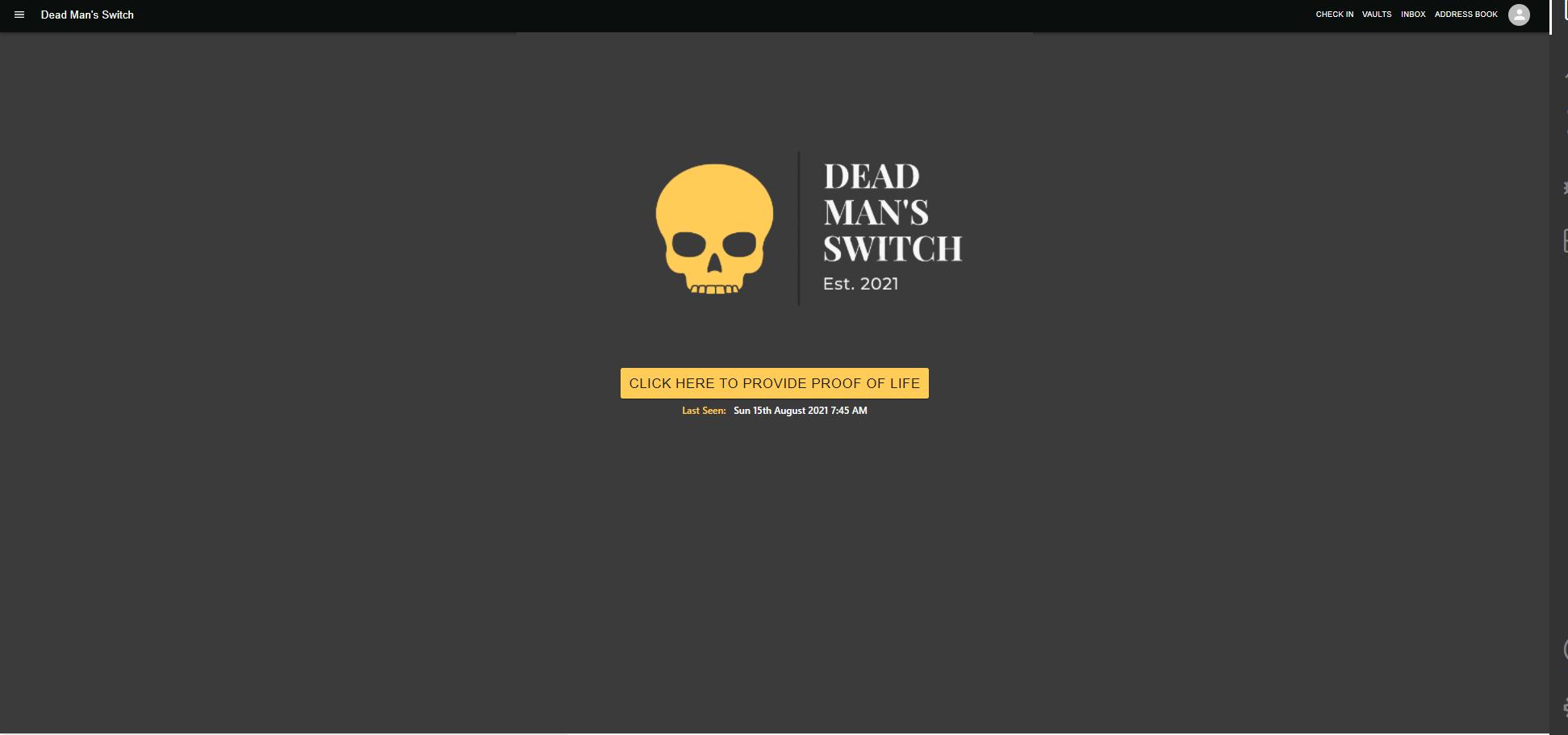 Dead Man's Switch showcase