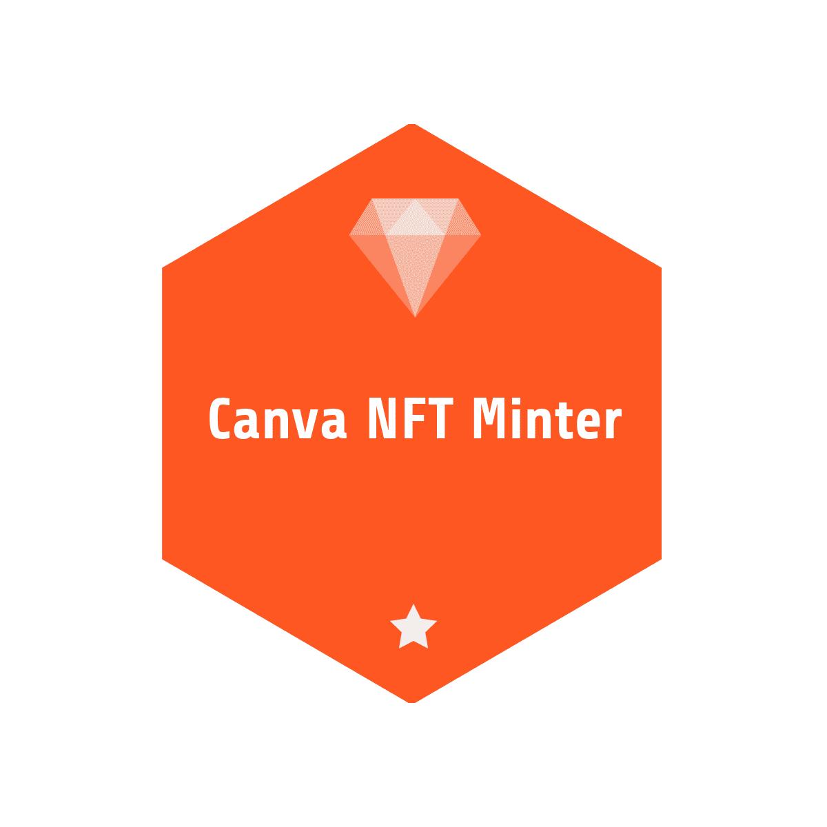 Canva NFT Minter