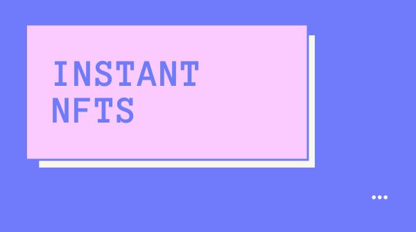 InstaNFT showcase