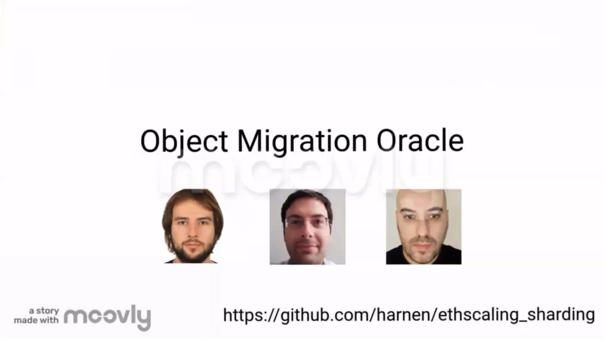 Object Migration Oracle (OMO) showcase