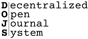 Decentralized Open Journal Systems