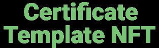Certificate Maker NFT