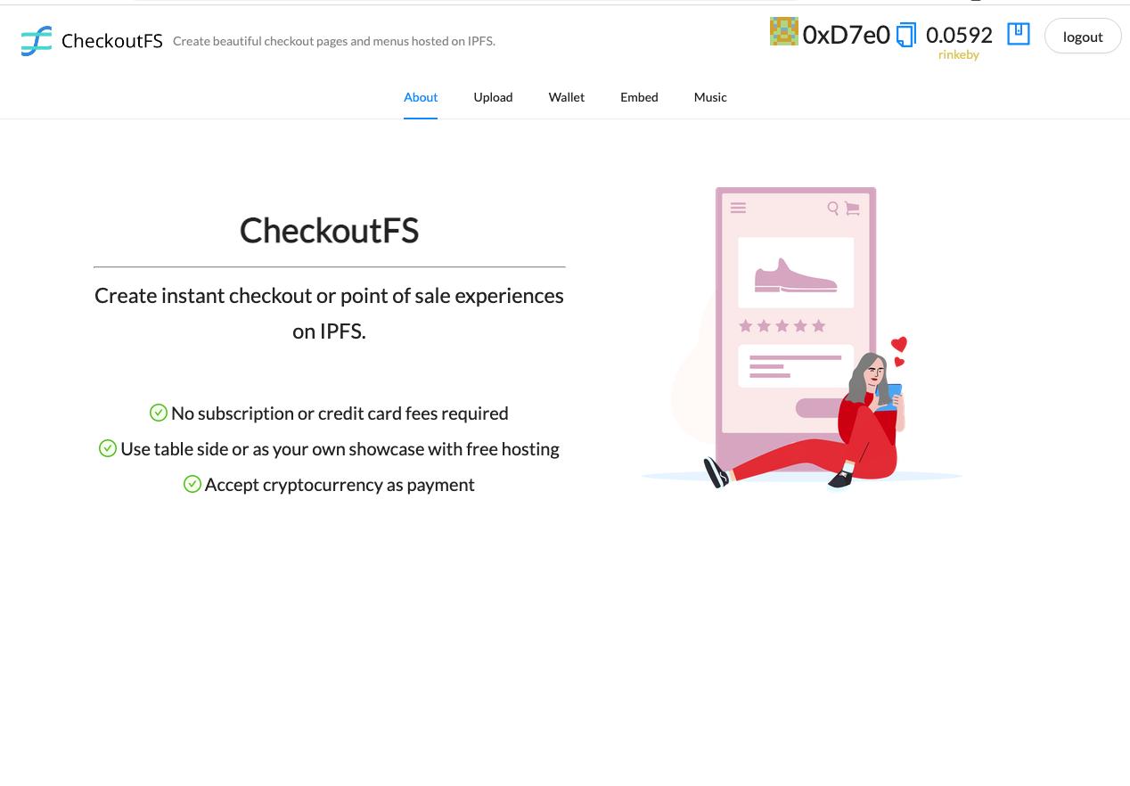 CheckoutFS showcase