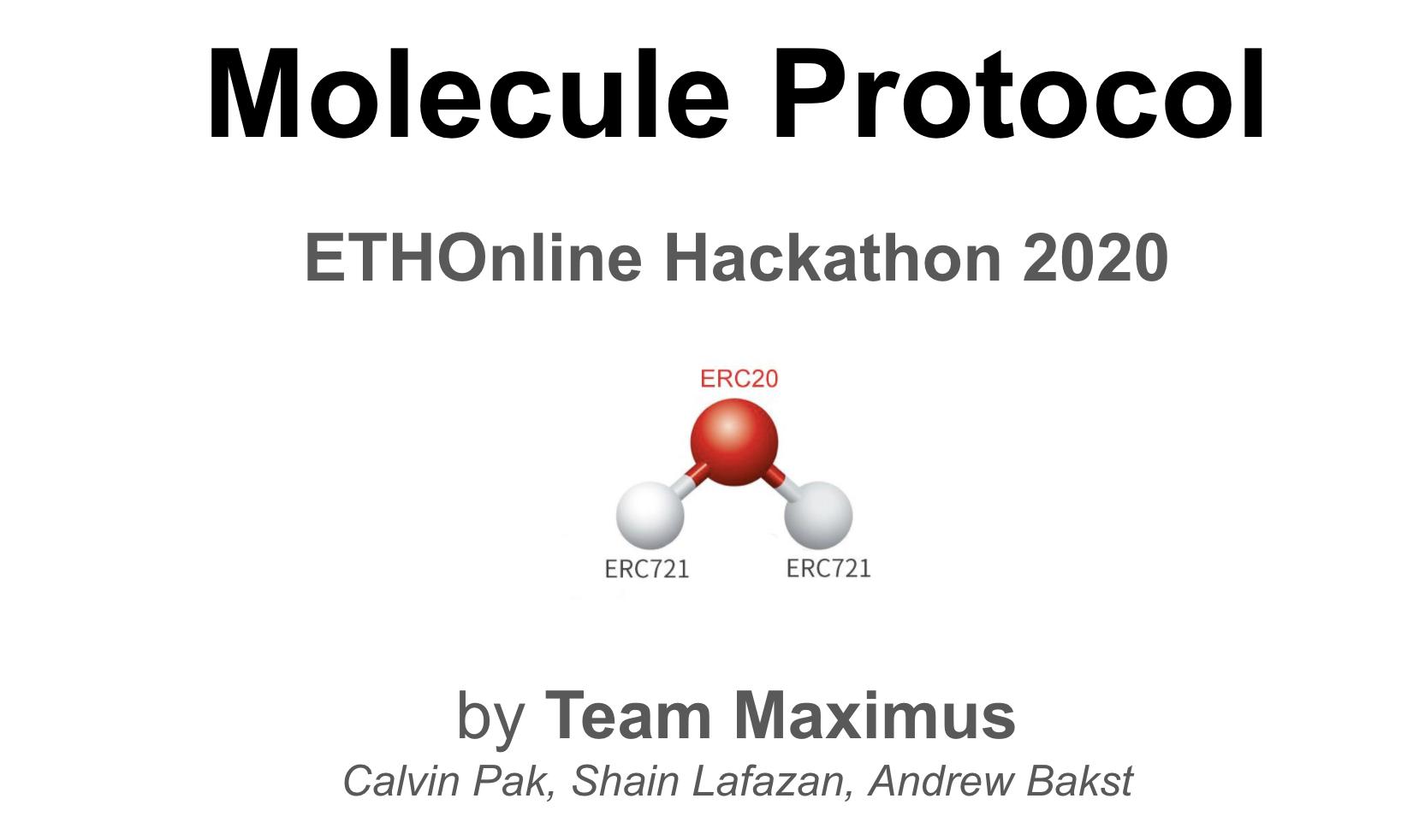 Molecule Protocol showcase