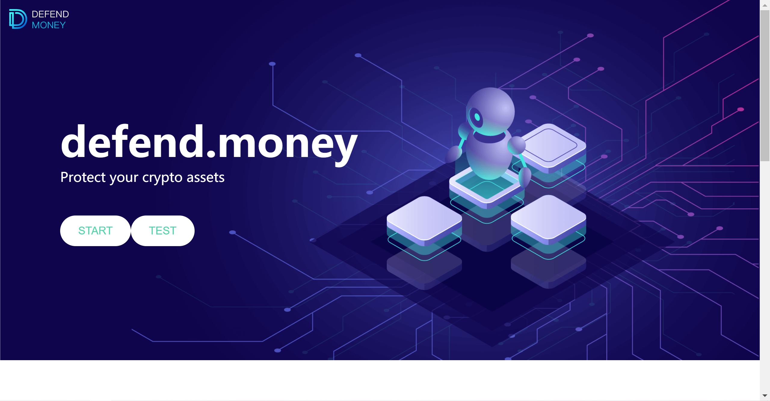 defend.money showcase