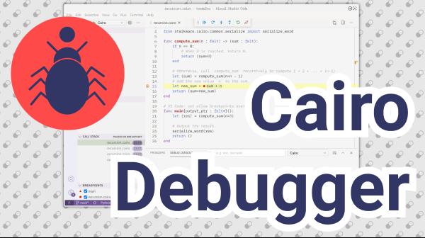 Cairo Debugger Adapter Protocol Support showcase