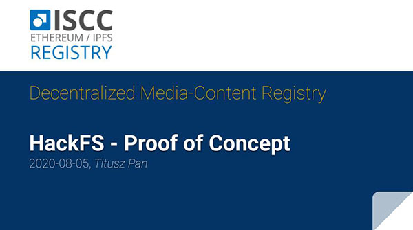 iscc-registry showcase