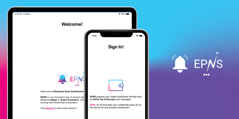 EPNS (Ethereum Push Notification Service) showcase