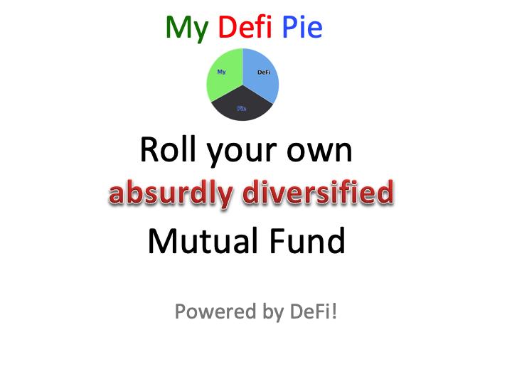 My DeFi Pie showcase