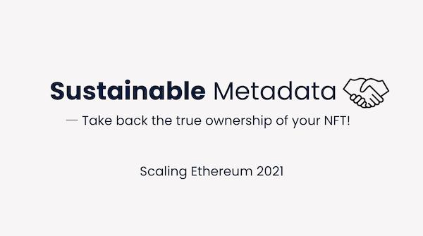 Sustainable Metadata showcase