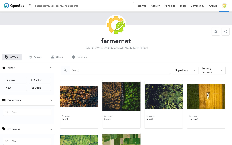 Farmer Net  showcase