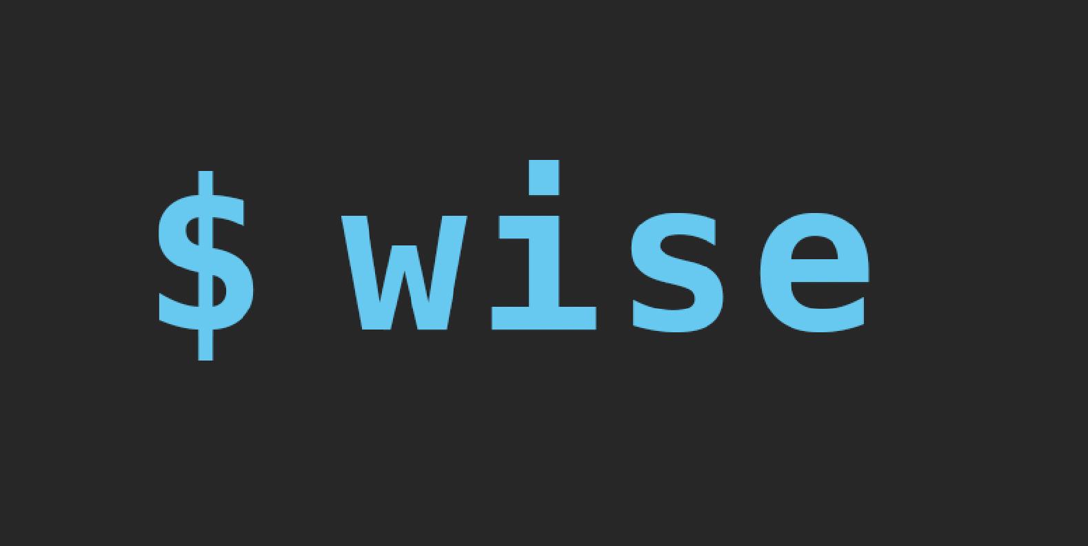 Wise showcase