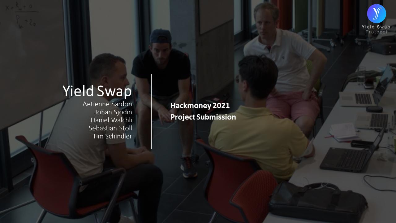 Yield Swap Protocol showcase